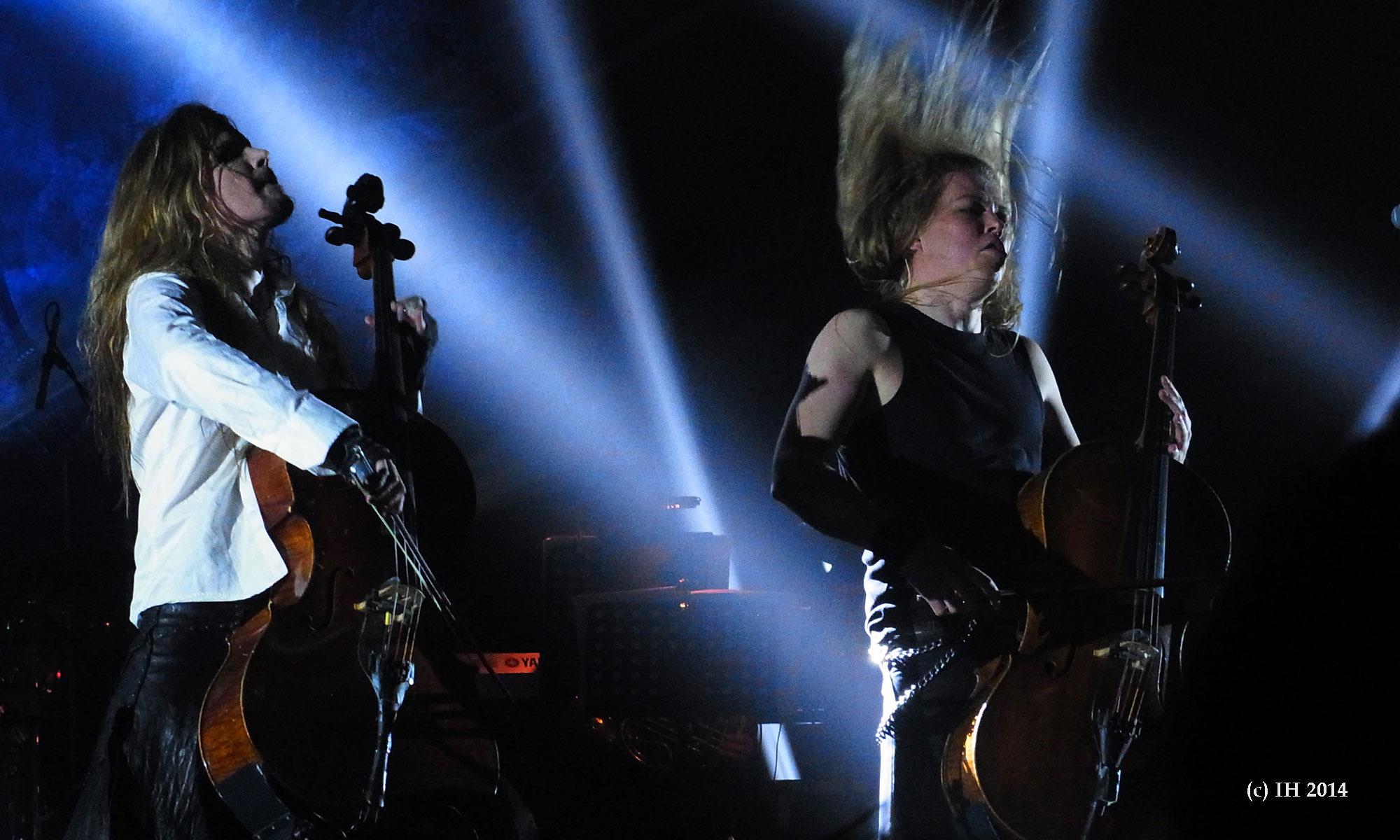 Apocalyptica 10 Tempodrom Berlin 2014