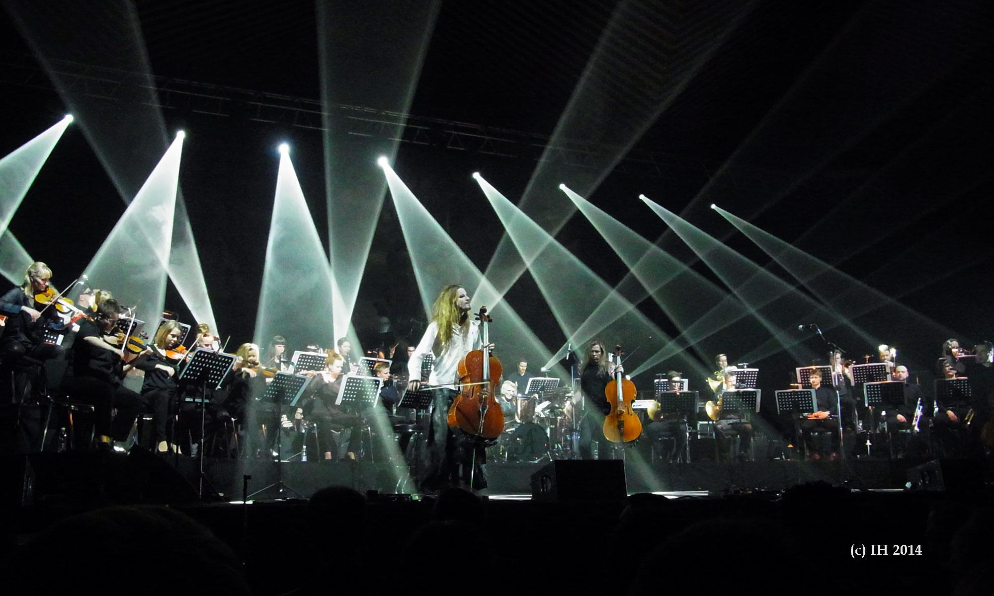 Apocalyptica 11 Tempodrom Berlin 2014